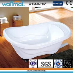 High quality movable Baby Acrylic Bathtub, Dog Bathtub, small children bathtub