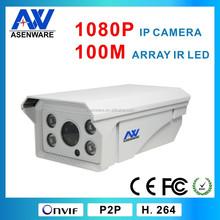 """2MP 1/2.5"""" SONY IMX122 CMOS sensor bullet IP camera"""