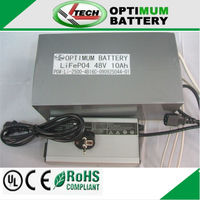 48v 10ah lifepo4 for 500w electric scooter