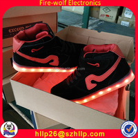 Adult Flashing Lighting Shoes Fashion Light Up Led Dance Shoes For Party Event