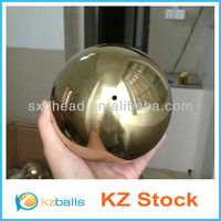 100mm Golden Stainless Steel Hollow Hanging Ball