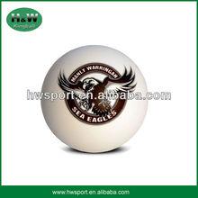 high quality team hollow rubber ball