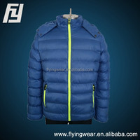 Winter Woven Waterproof Padded Jacket for Men Outwear