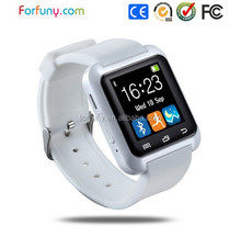 Black U8 Smart Watch Bluetooth Phone Mate For IOS Android HTC Iphone Samsung