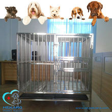 good quality elegant stainless steel dog cage