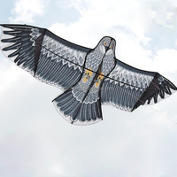 Excellent Quality Beautiful Design New Huge Eagle Kite Single Line Novelty Animal Kites Fit For Children Kid Toy Gift