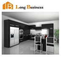 LB-JX1032 Ready made kitchen cabinet model,small kitchen designs