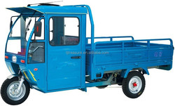 half closed hot sell motor tricycle/electric tricycle used for cargo
