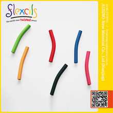 2015 new Flexible composite wax crayons set with EN71-1,2,3,9 ASTM REACH Pathalate 13P certificate