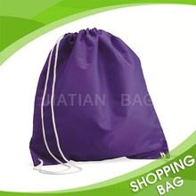 Custom Waterproof Nylon Polyester Drawstring Backpack