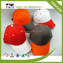 supply premuim quality custom embroidered featuring two tone color design stylish baseball cap