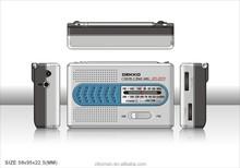 DK-2018 wholesale cellphone style fm/am radio
