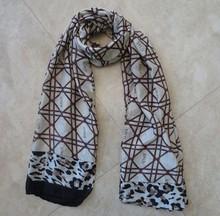 wholesale scarf women milk coffee square black bean color sexy design