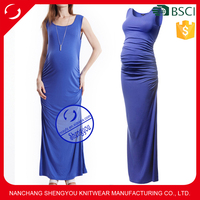 Wholesale maternity clothes sleeveless pregnant women dresses