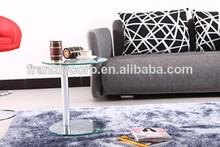 Contratados moderna utiliza vidrio de mesa final/utiliza pequeñas mesa de café