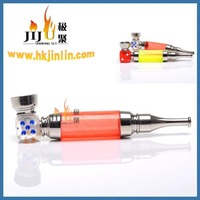 JL-291 Yiwu Jiju Wholesale Smoke Shop Fancy Glass Pipe Stem