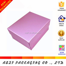 low price one piece full color printed white paper cupcake box for sale