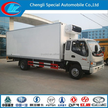 China manufacture cold storage truck hot sale JAC refrigerated trucks light freezer trucks for sale