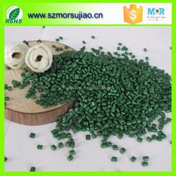 PA Deep Green color masterbatch for fishing nets, Suzhou Mor Plastic
