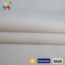 pure white Spandex/Stretch/Elastic 100% Cotton Twill Fabric