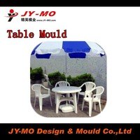 daily use plastic chair and table mold making, Plastic outdoor Inject Mold Table