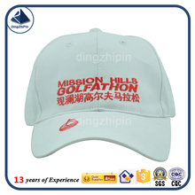 Alibaba China custom promotional golf hat factory