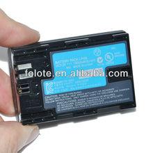 LP-E6 Batteries For Canon 5D Mark II III 7D 60D LP E6 Battery Pack 1800mah