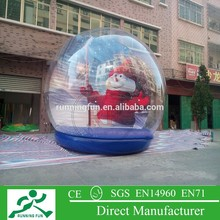 2015 Popular christmas giant snow globe for sale, halloween snow globe, inflatable snow globe
