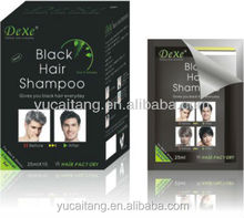 OEM /private label coverage grey hair in 5 mins fast black hair shampoo ,black hair shampoo brand agent