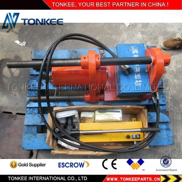 100 TON hand power hydraulic pin press.jpg