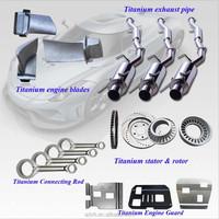 Super Performance Titanium Alloy Auto Parts for Sale