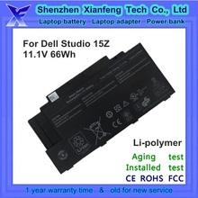 laptop battery for Dell Studio 15z 1569 XV90H YY9RM
