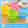 wholesale portable tea cups hot collapsible silicone cups hot new products for 2015