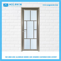 Certificates CE/ISO9001 cheap aluminum swing door for kitchen