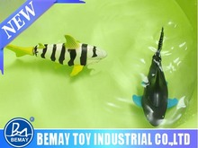Swimming coke can mini rc shark rc toy remote control shark toy