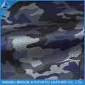 Caliente de la PU material camuflaje para los zapatos