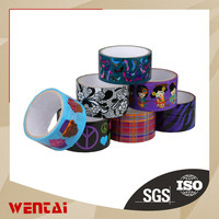 High quality Bopp printed logo on tape packaging tape with low price