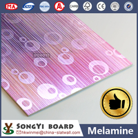 PVC Laminated MDF Board Partition Wall Furniture
