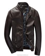 Hot sale good designer winter man leather jacket