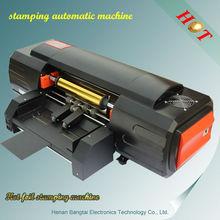 BT330 stamping automatic machine, ribbon printing machines, hot automatic foil stamping machine