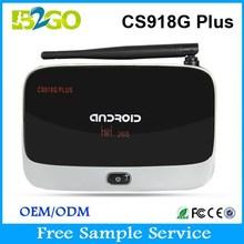Android tv streaming boxCS918G Plus Amlogic S805 quad core android tv box digital tv tuner