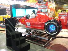 2015 CIAE exhibition hot sale fashion F1 racing car, game motion simulator