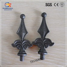 Drop Forged Steel Wrought Iron Arts for Fence