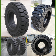 low price 12x16.5 skid loader solid tire, Cheap 8.25-20 forklift solid tires