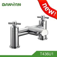 Jiangmen Innovative two handle bath mixer