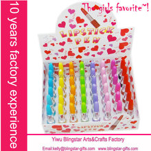 hot selling fashion diamond crystal promotional lipstick pen