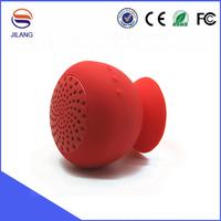 Silicone sucker mini waterproof bluetooth wireless speaker for sauna