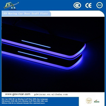 2016 New Product Car Styling LED Scuff Plate/Welcome Pedals For Cadillac SRX XTS 2010-2015