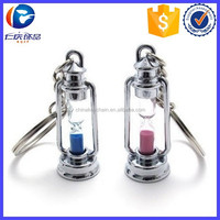New Product High Quality Couple Hourglass Shape Key chain