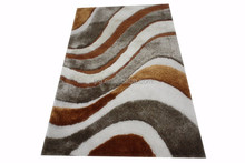 100% polyester shaggy carpet rug